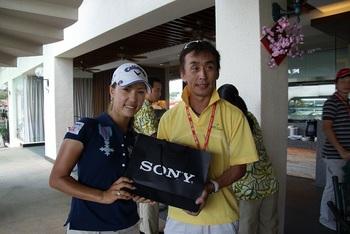 2010年2月25日HSBC Cup 上田桃子.jpg